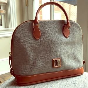 Dooney & Bourke soft grey purse